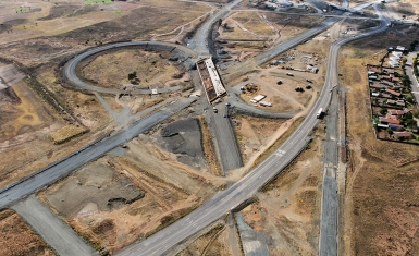 N1-N9 Interchange during construction