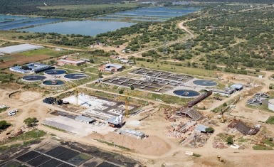 Gaborone Wastewater Treatment Works