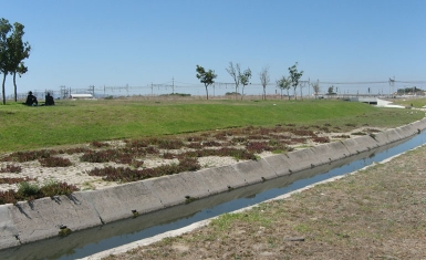 Lotus River widening and water quality improvement
